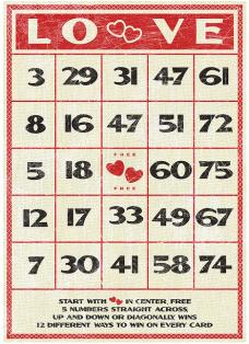 Teenagers in a bingo hall?