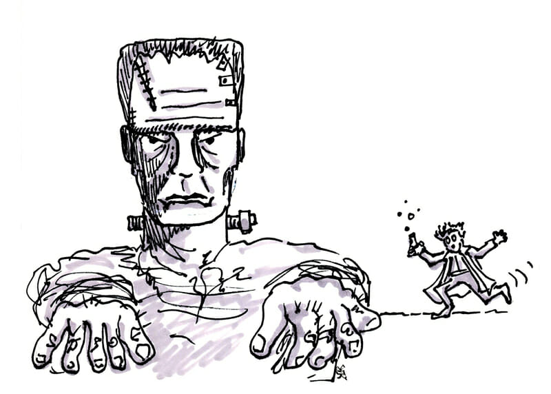Frankenstein - Monster Projects That Will Kill Your Career as an Intrapreneur