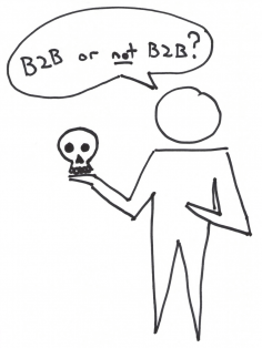Philosophy and Lean Startup Pun B2B or not B2B - Organizational Culture Case Study