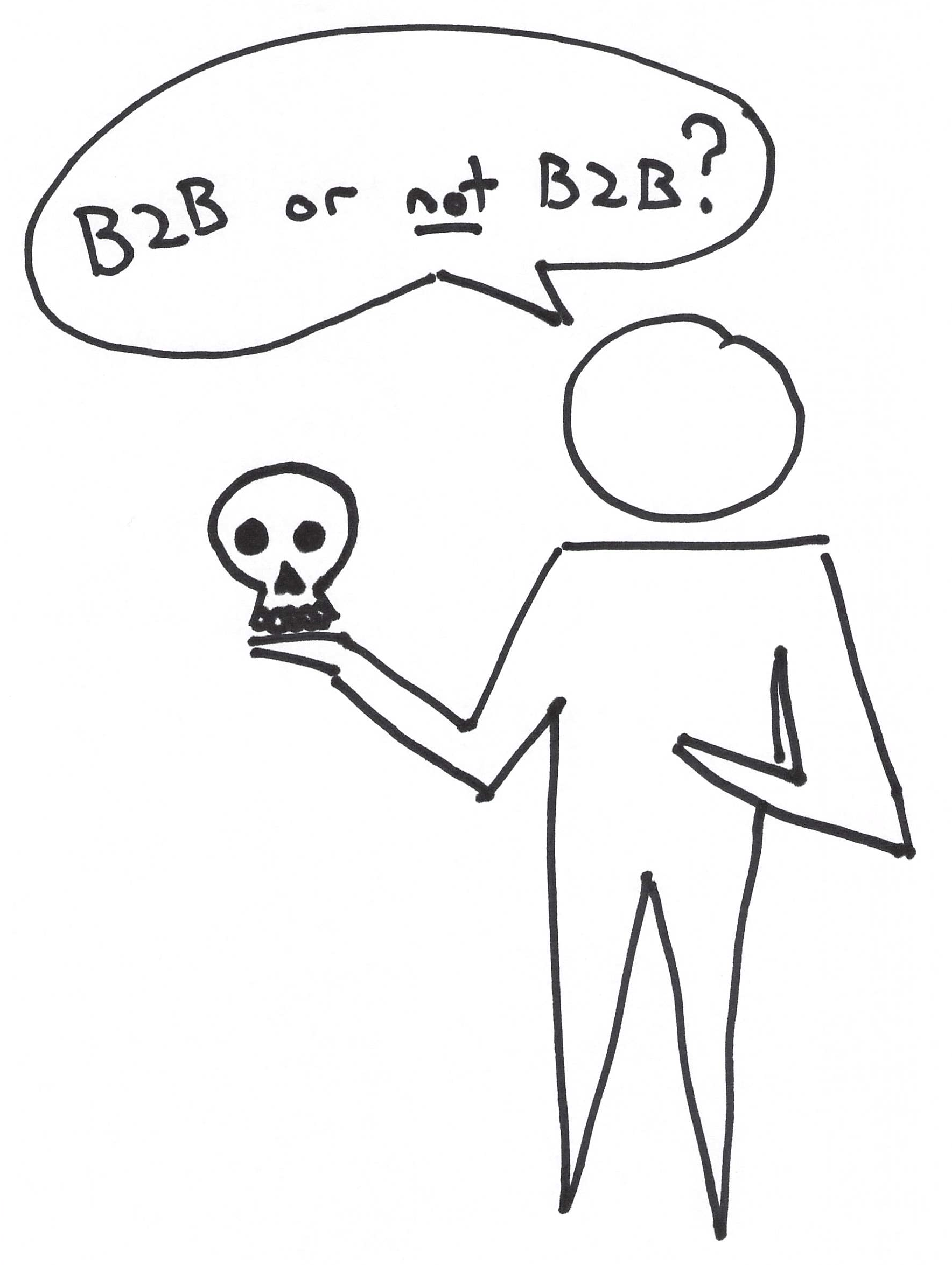 B2B hypothesis - the first step in a well defined experiment