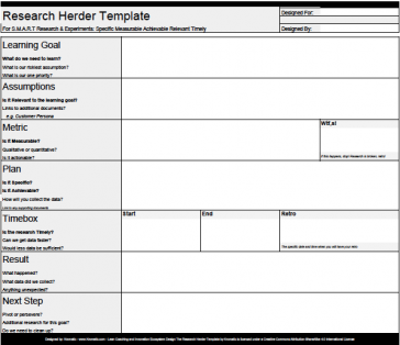 Research herder template