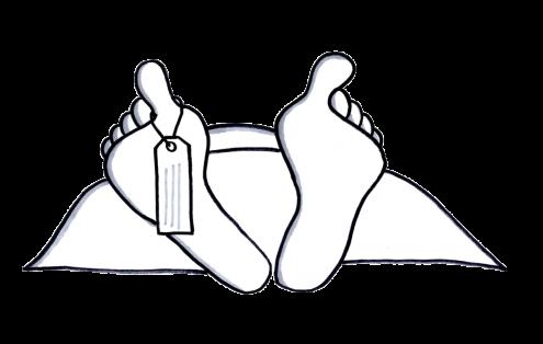 Feet of a dead body, Sprint Retrospective Ideas