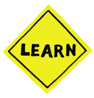 """The """"Learn"""" sign"""