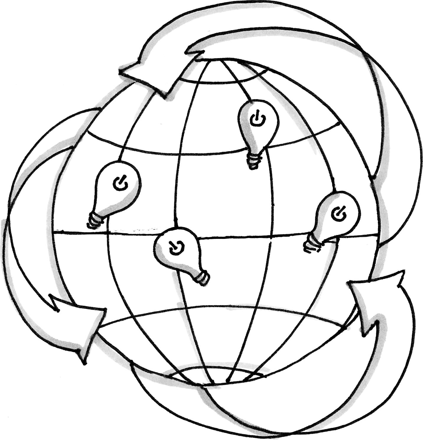 Innovation globe
