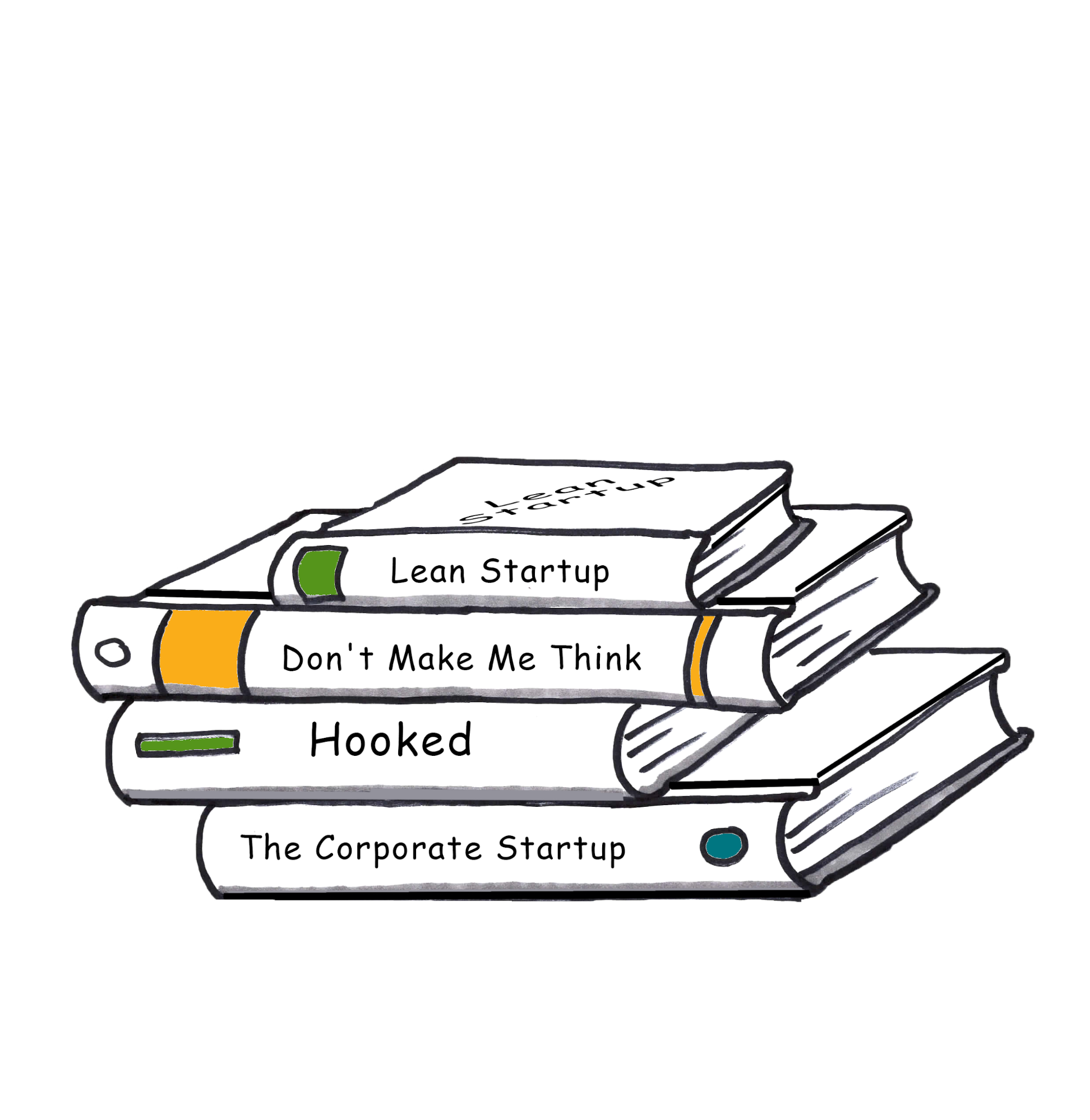 Books on Agile and Design Thinking continue to espouse the theories of Lean Startup.